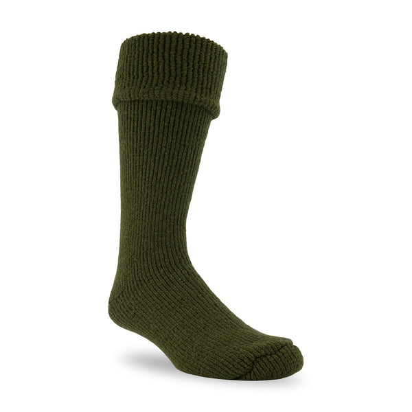 J.B. Field's Icelandic -50 Below Gumboot Cuff Wool Thermal Socks - SLIGHTLY IMPERFECT - 2PK