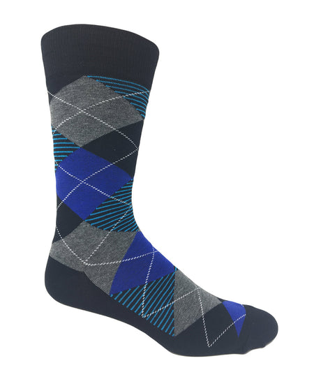 "Vagden Men's ""Seagul Pattern"" Rayon from Bamboo Dress Socks"