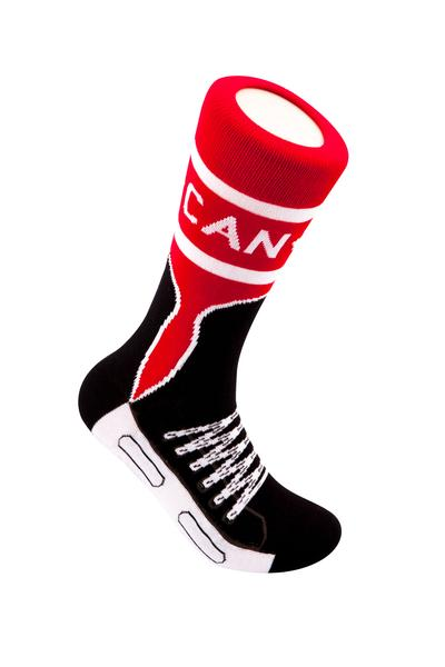 Canadian Skate Cotton Crew Socks by Main & Local