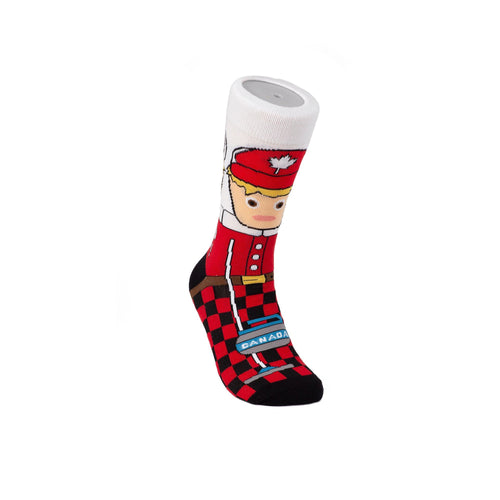 Canadian Curler Cotton Crew Socks by Main & Local