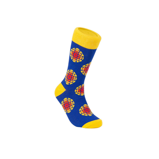 CBC Retro Logo Cotton Crew Socks by Main & Local