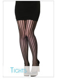 Women's Patterned Tights by C'est Moi