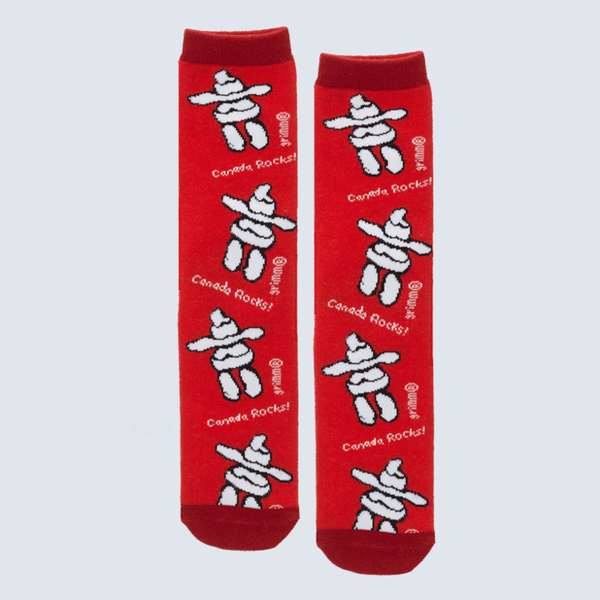 "Kids ""Canada Rocks"" Socks by Grimm"