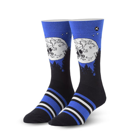 "Men's ""Vito"" Godfather Cotton Crew Socks by ODD Sox"