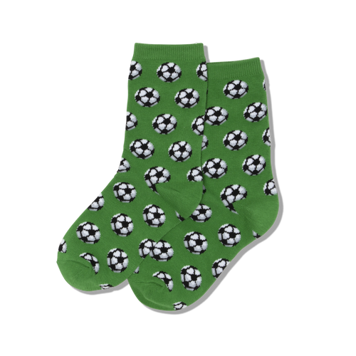 "Kids ""Soccer"" Crew Socks by Hot Sox"