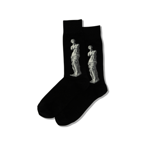 Unisex Alexandros Venus de Milo Cotton Socks by Hot Sox