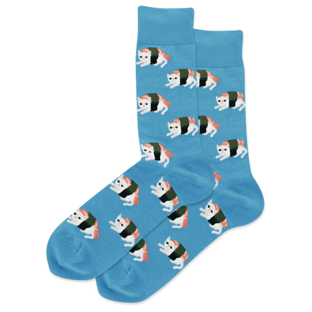 "Women's ""Coffee"" Cotton Dress Crew Socks by Hot Sox"