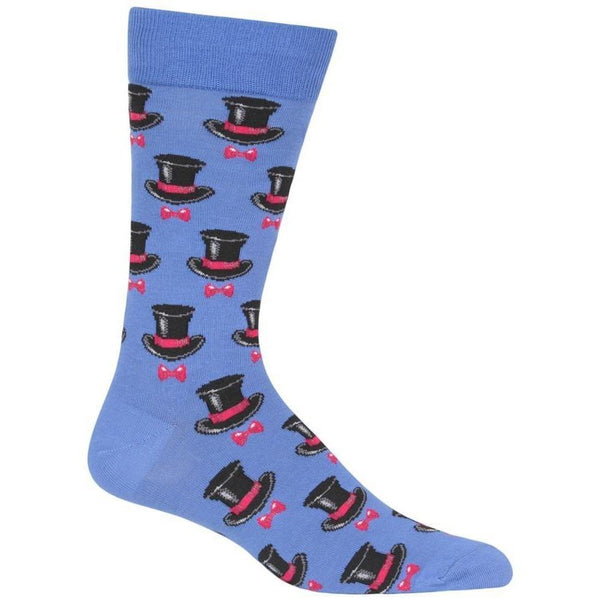 Mens top hat socks