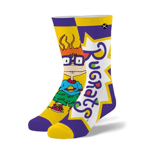 "Men's ""It's Chuckie"" Cotton Crew Socks by ODD Sox"