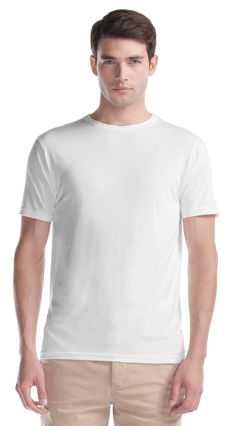White bamboo t-shirt