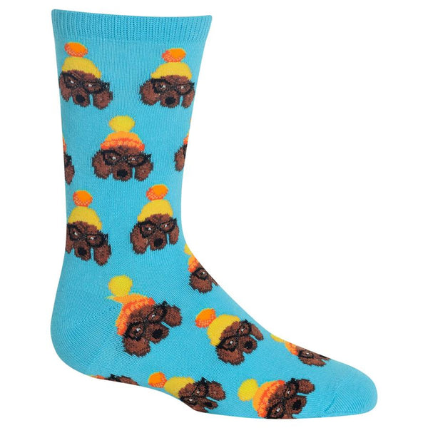 Kid's Winter Dogs Crew Socks by Hot Sox