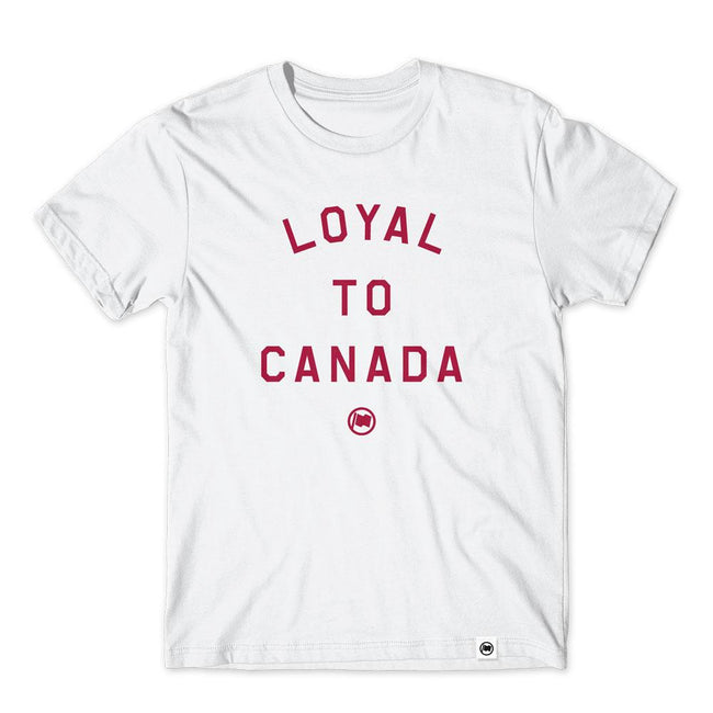 """Loyal to Canada"" Unisex Cotton T-shirt by Loyal to a Tee"