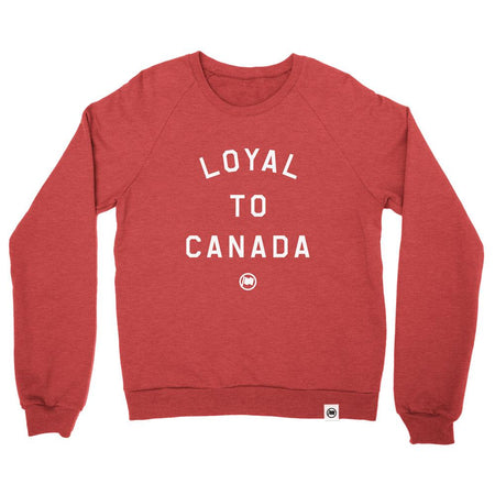 """Loyal to Toronto"" Unisex French Terry Crewneck Sweater by Loyal to a Tee"