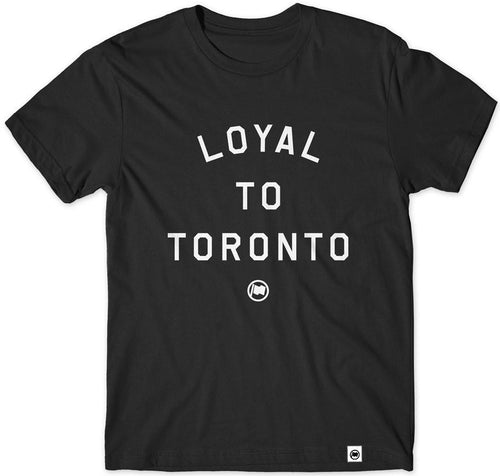 """Loyal to Toronto"" Unisex Cotton T-shirt by Loyal to a Tee"