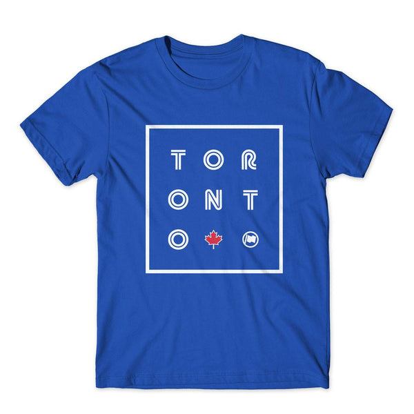 """Toronto"" Unisex Cotton Crewneck Tee by Loyal to a Tee"