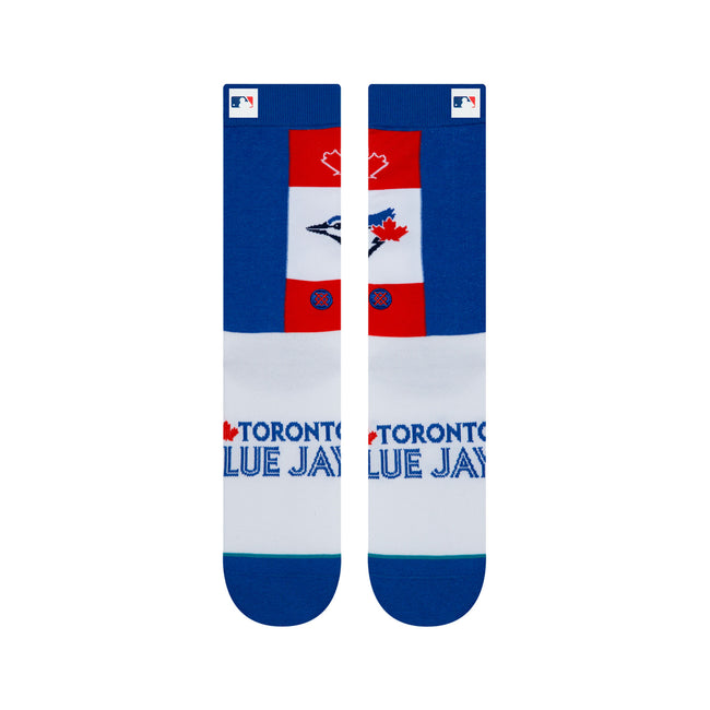 "Stance ""Blue Jays Pop Fly"" Cotton Socks"