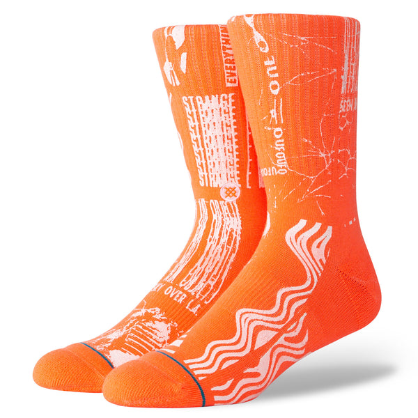 "Stance Men's ""Strange Lights"" Poly Blend Socks"