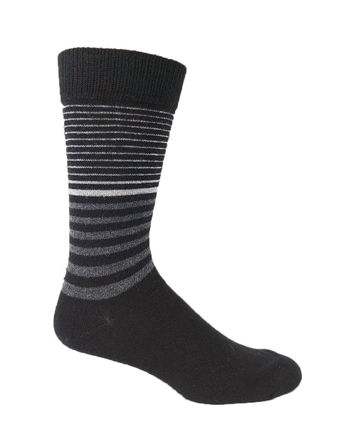 Vagden Men's Stripe Angora Blend Socks