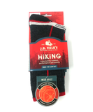 Black mesh merino wool hiking socks
