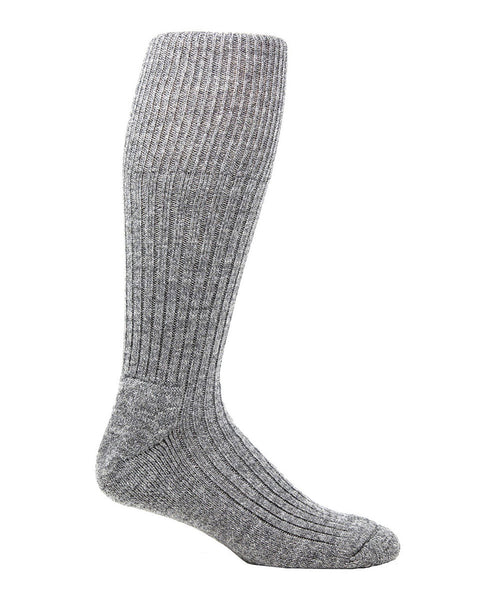 Wool thermal knee high boot sock