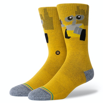 "Stance Pixar ""Wall-E"" Combed Cotton Crew Socks"