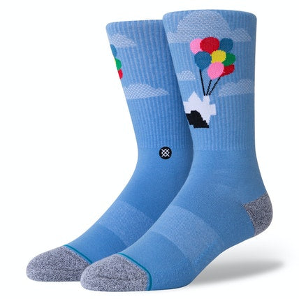 "Stance Pixar ""Up"" Combed Cotton Crew Socks"