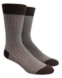 Triangle bamboo crew socks
