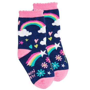 "Kids ""Robot"" Crew Socks by Stephen Joseph"