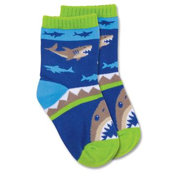 "Kids ""Shark"" Crew Socks by Stephen Joseph"