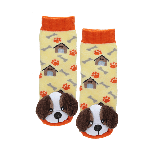 "Lil Traveller Kids ""St. Bernard"" Socks by Parkdale Novelty"