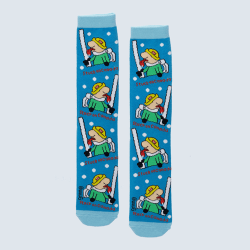 "Kids ""Stuck on Canada"" Socks by Grimm"
