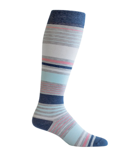 stripes compression socks