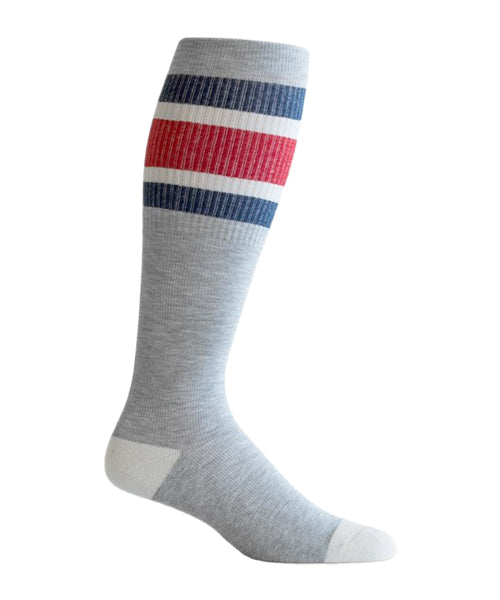 """High Climber"" Cotton Compression Socks by Top & Derby (15-20 mmHg)"