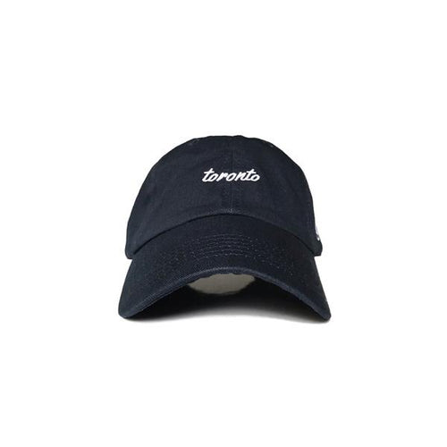 Toronto Script Suede Stapback hat from Loyal to a TEE
