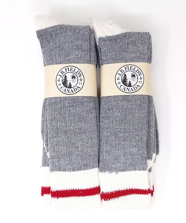 J.B. Field's Traditional Wool Boot Socks (3 or 6 Pairs) - SLIGHTLY IMPERFECT