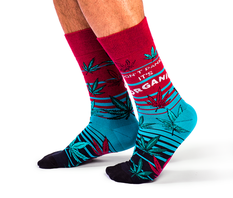 "Men's ""Mary Jane "" Cotton Crew Socks by Uptown Sox"