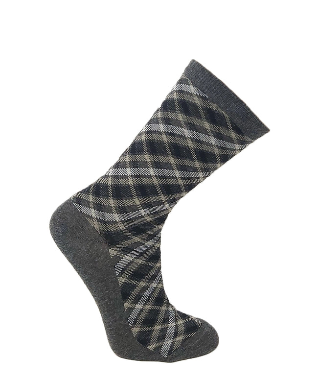 Santa Barbara Women's Cotton Plaid Sock