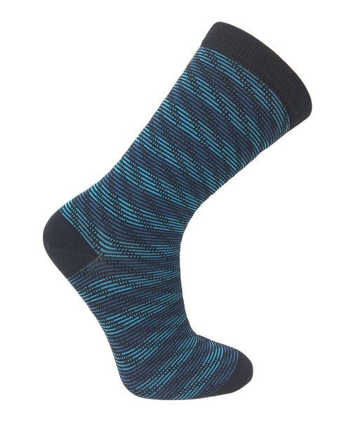 Vagden Women's Striped Rayon from Bamboo Socks