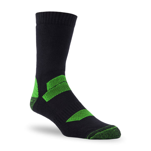 "J.B. Field's Hiking ""Outdoor Explorer"" 80% Organic Cotton Crew Sock"