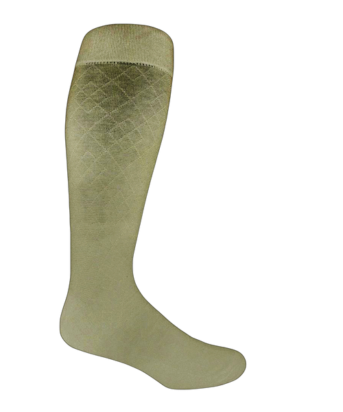 Olive extra large cotton socks
