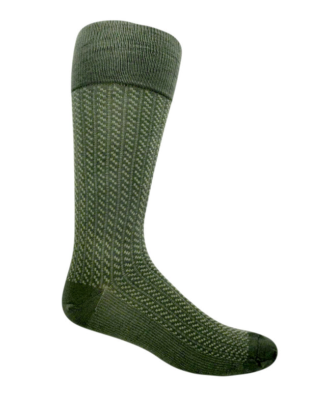 green extra large patterned socks
