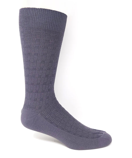 "Vagden Men's ""Stripe"" Bamboo Crew Socks"