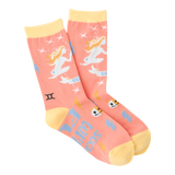 Women's Gemini Crew Socks by K Bell