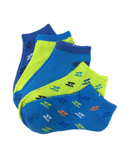 Point Zero Kid's Assorted Motor Sports Socks - 3PK