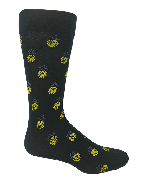 Men's Pineapple Socks by Crazy Toes