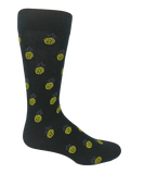 Pineapple patterened socks