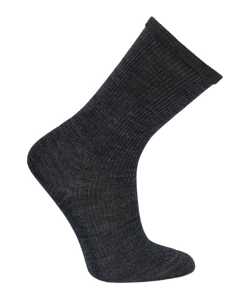 Black dress sock