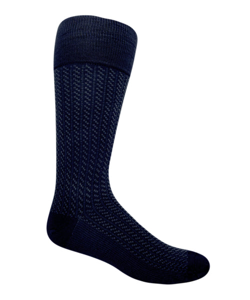 blue extra large patterned socks