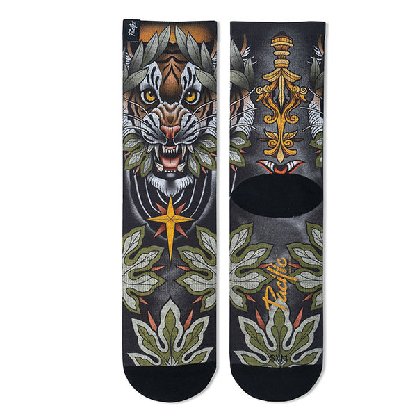 "Pacific & Co. ""Roar by Alvaro Alonso"" Socks"