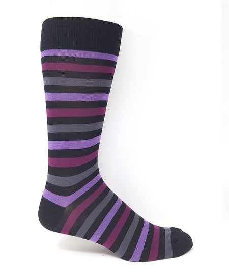 Vagden Men's Grey Cactus Bamboo Dress Socks